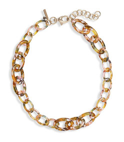 thin chain garland necklace