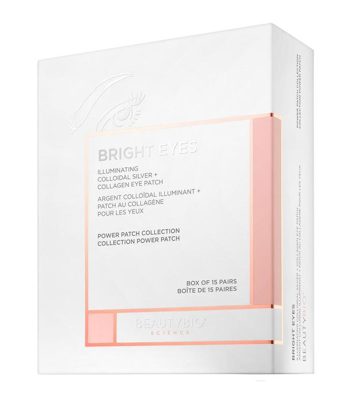 bright eyes & #153 illuminating colloidal silver + collagen eye patch