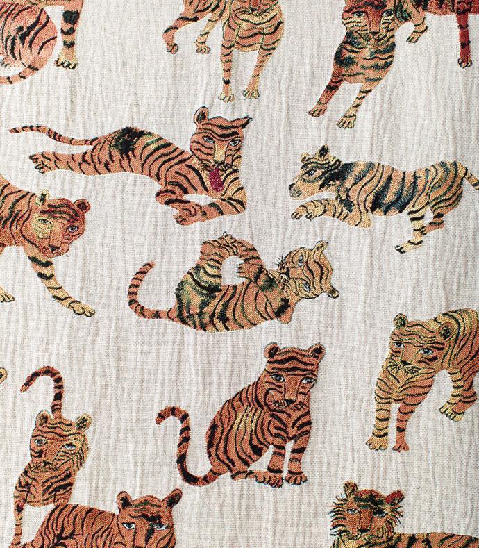 playful tigers blanket