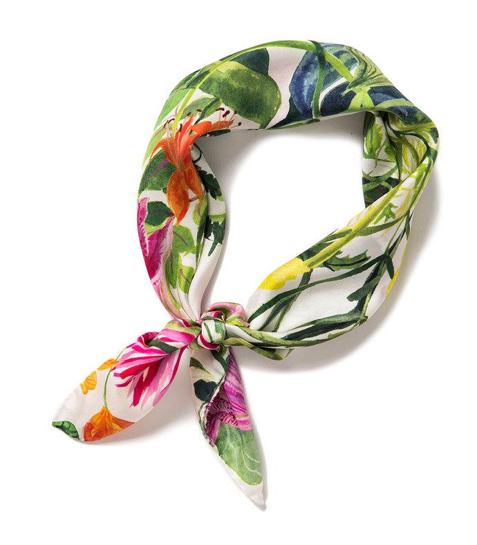 rainforest mini scarf