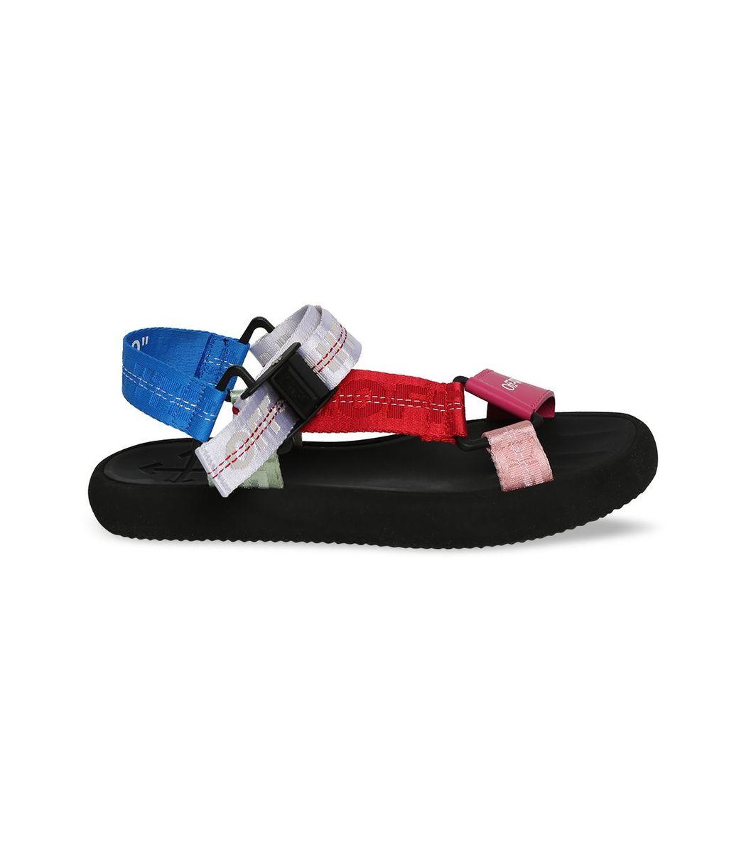 Off-White Multicolor Trek Sandal