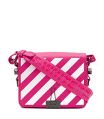 medium striped bag