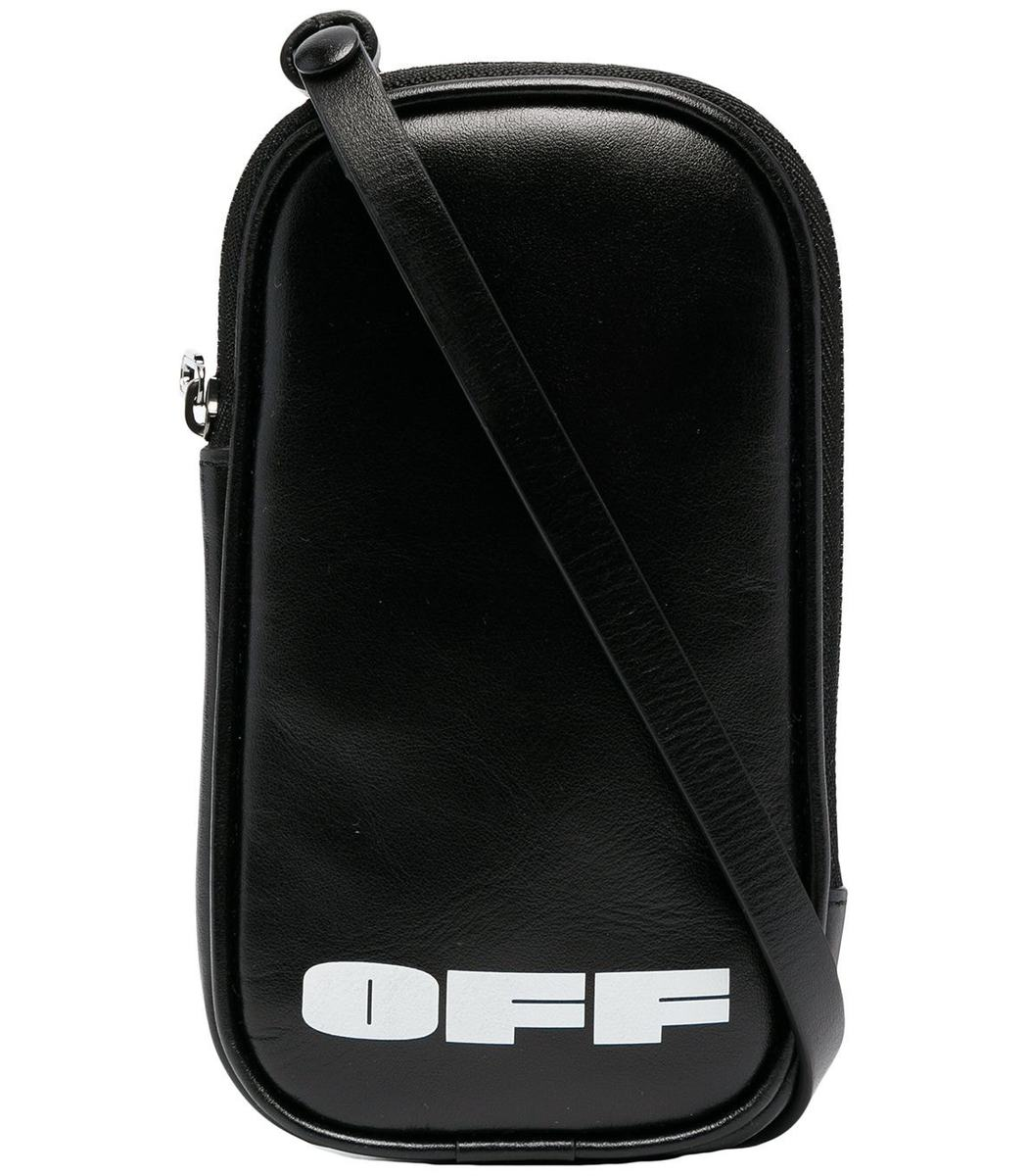 OFF-WHITE Leathers Black Leather Iphone Holder
