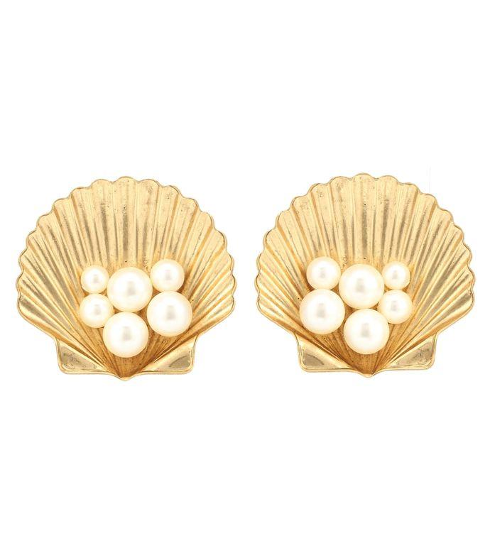 sirena clip-on earrings