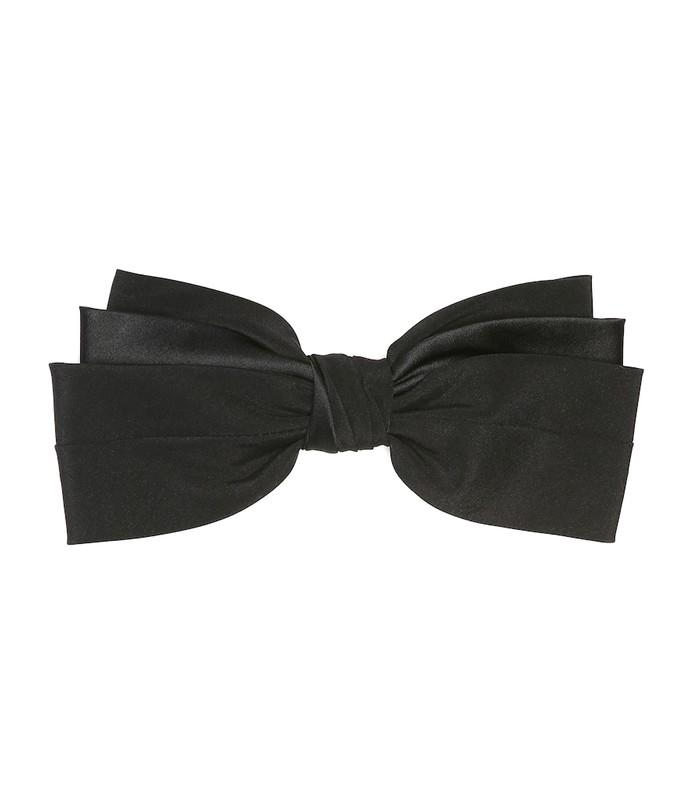 classic silk bow barrette