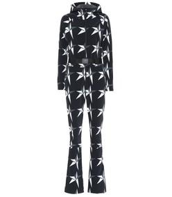 star one-piece ski suit