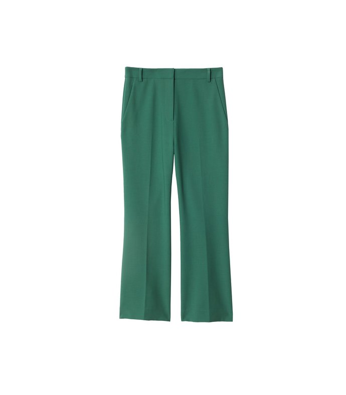 anson stretch cropped bootcut pant