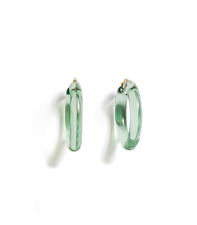 frost hoops in mint