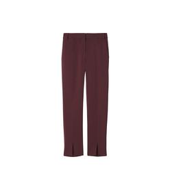 burgundy beatle menswear pants