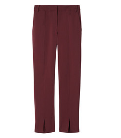 burgundy beatle menswear pants