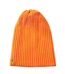 orange wool beanie