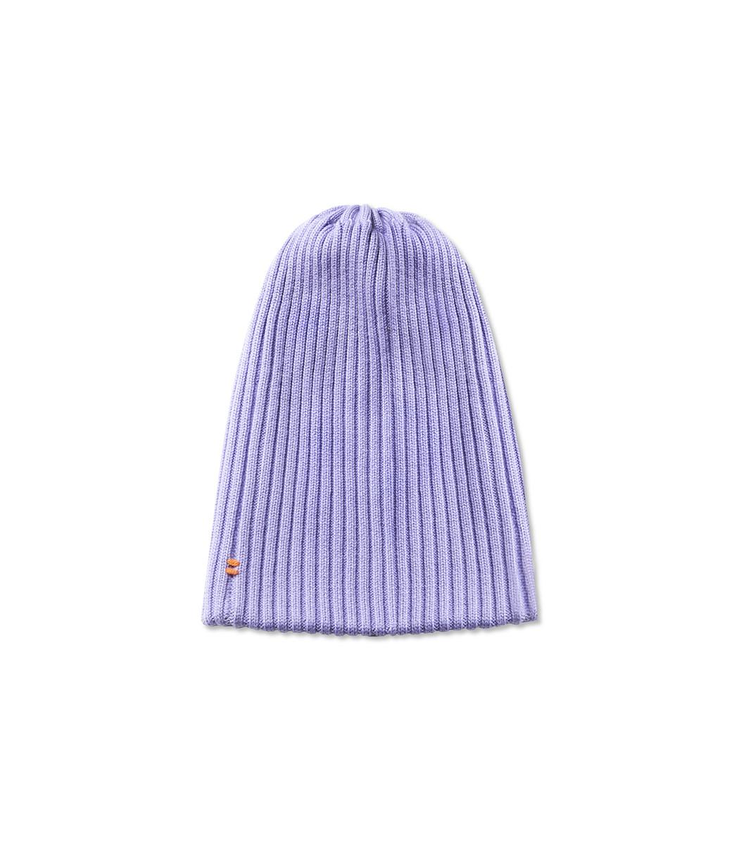 Lavender Wool Beanie in Purple