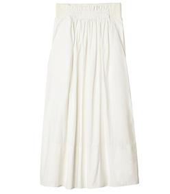 heavy nylon shirred waistband full skirt