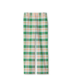 hani plaid taylor pants