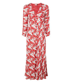diana floral print dress