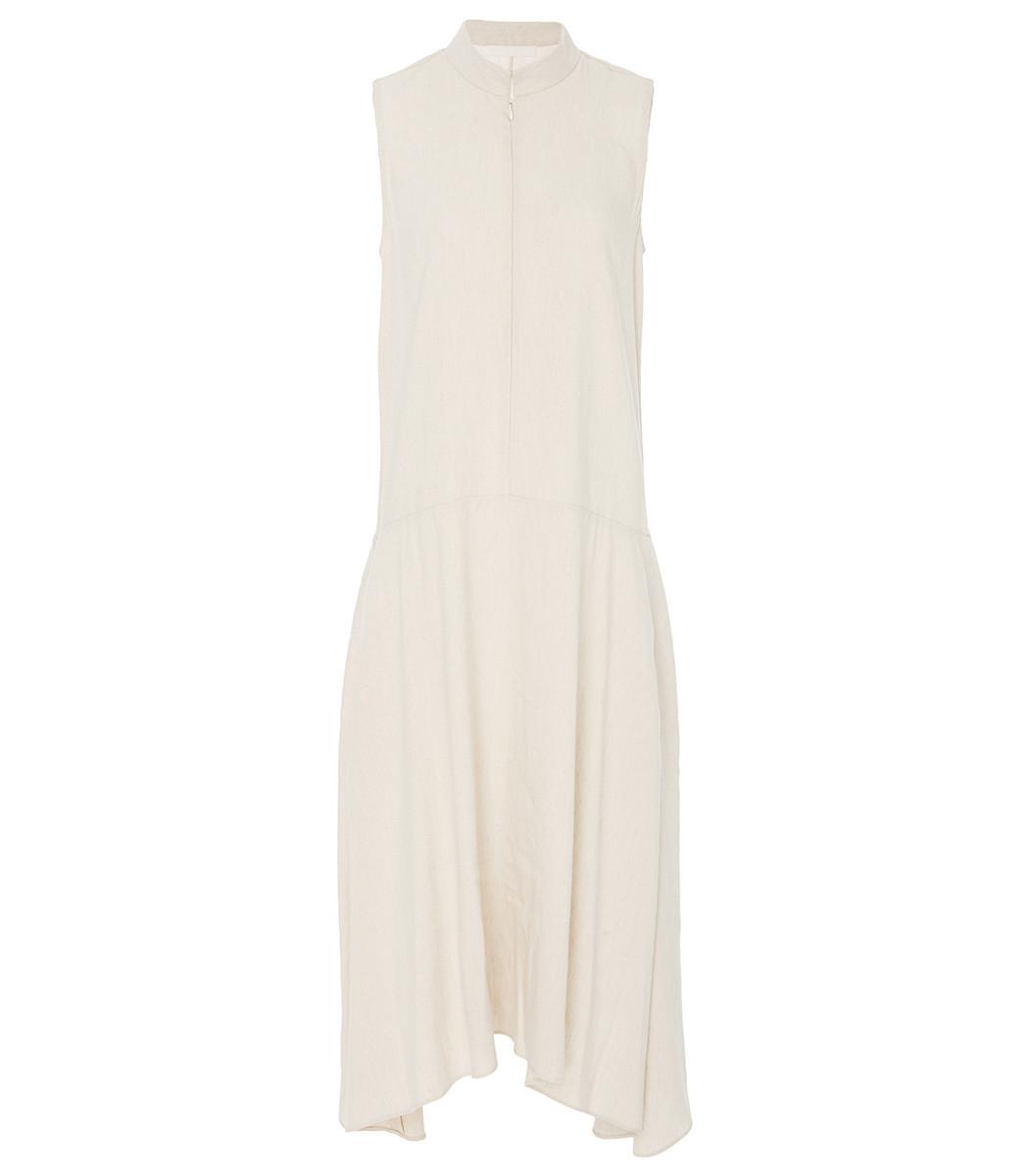 MARISA WITKIN Mock Neck Sleeveless Dress