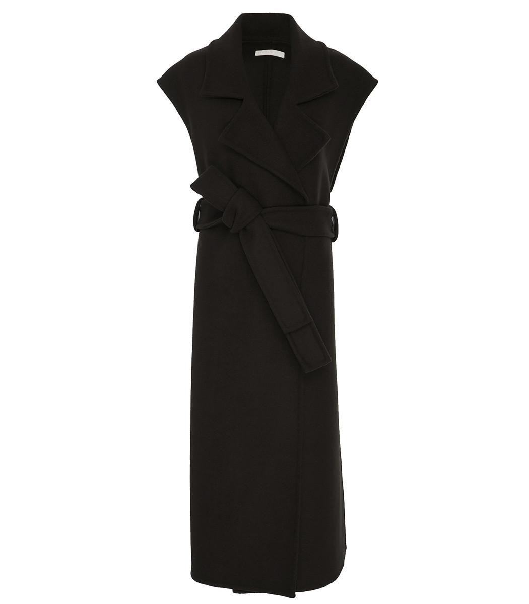 MARISA WITKIN Outerwear Vest In Black