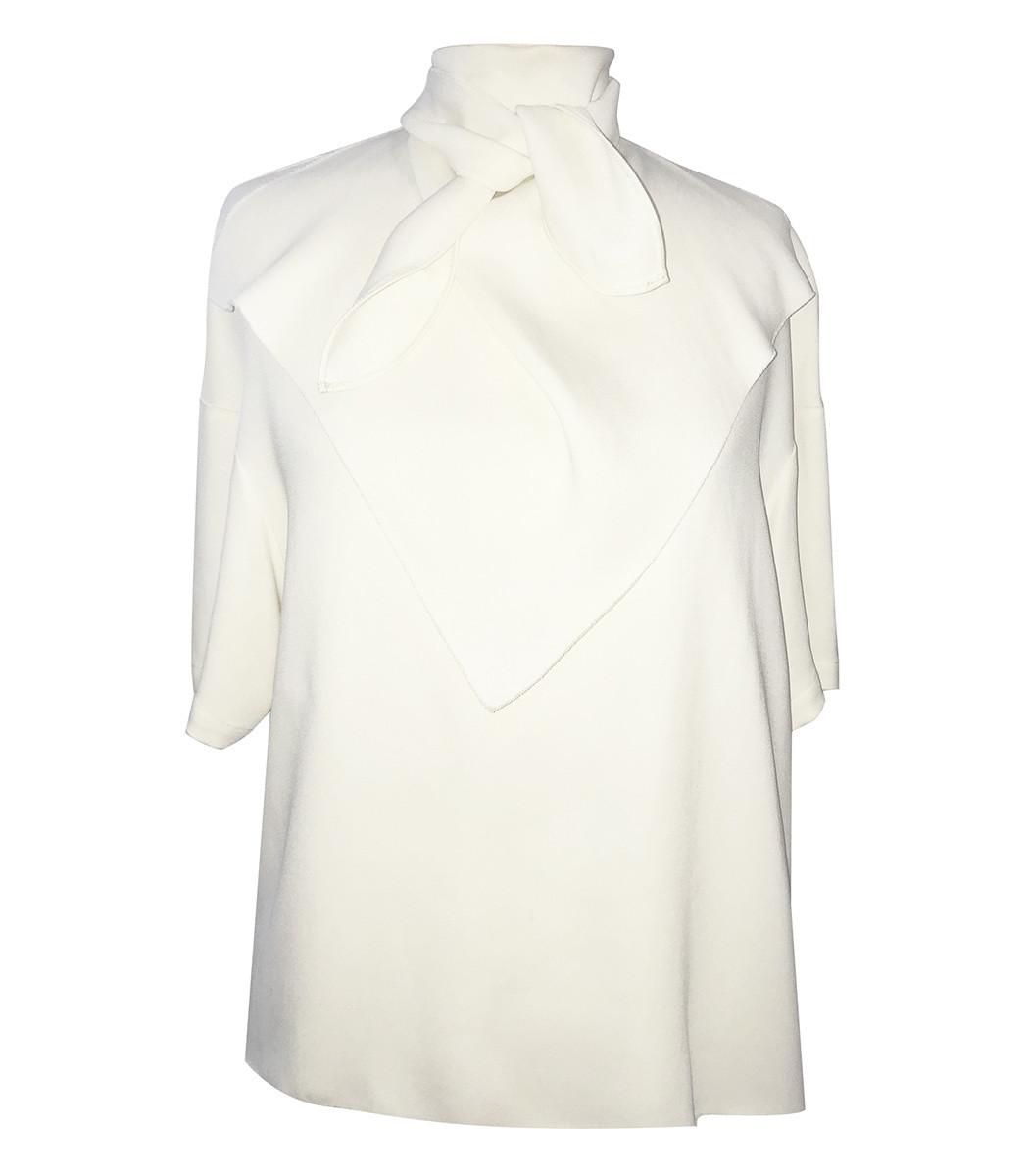 MARISA WITKIN Bandana Top in Ivory