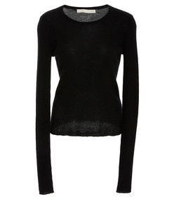 fine gauge cashmere sweater with removable turtleneck