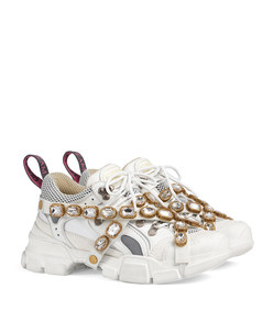 flashtrek sneaker with removable crystals