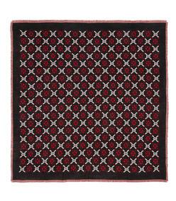 gg diamond wool shawl