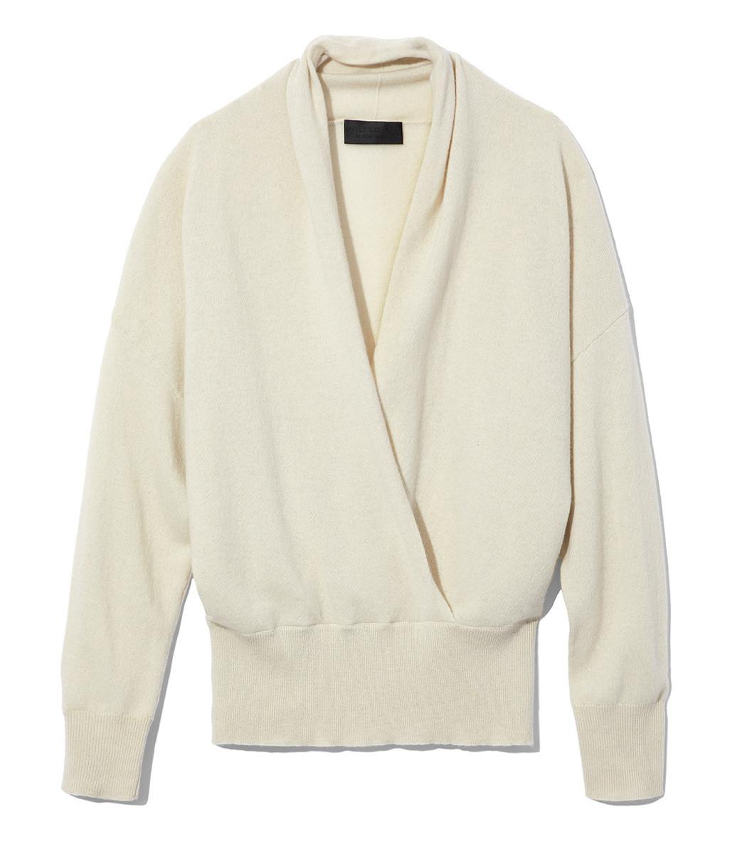 3a17124370 Shop Nili Lotan Lakota Sweater In Ivory