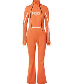 roma printed ski suit