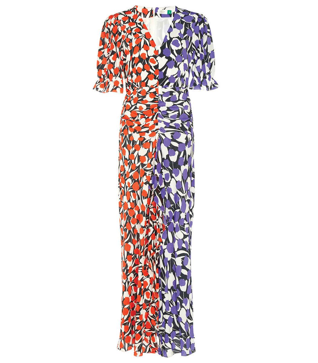 Rixo London Ariel Midi Dress