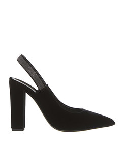 fiona velvet court shoes