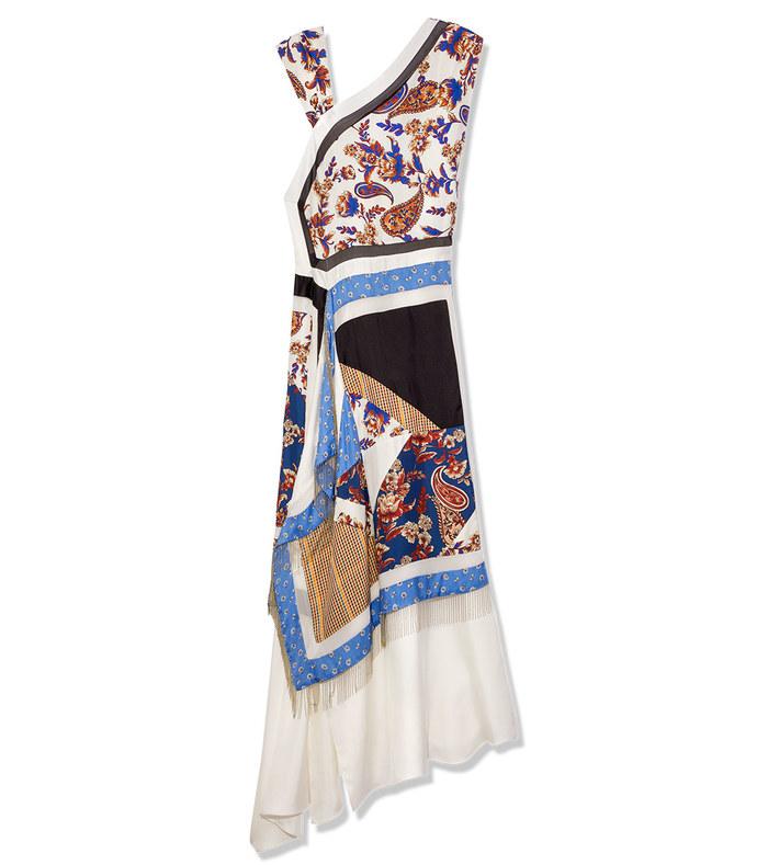 patchwork handkerchief dress