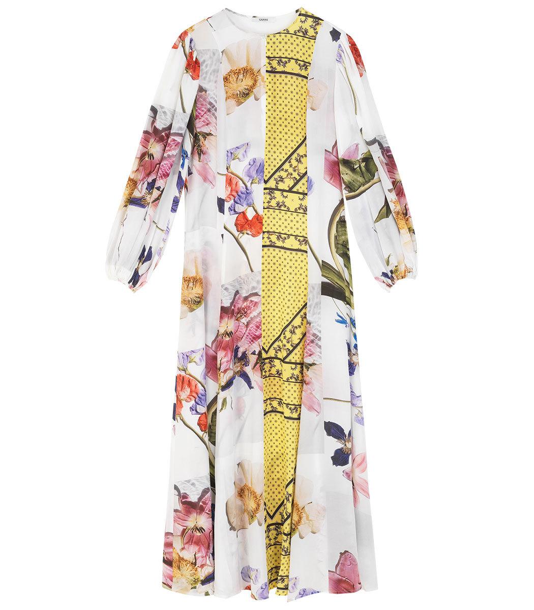 63ec4a6b7 Home / Ganni / Hemlock Silk Dress. prev