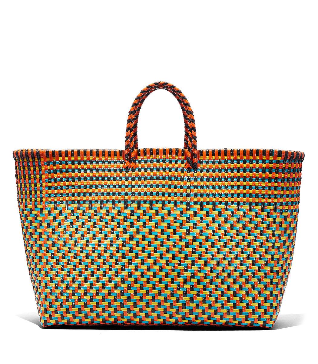 TRUSS Large Basket Weave Tote