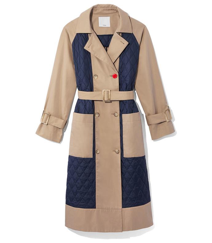 finn twill trench coat