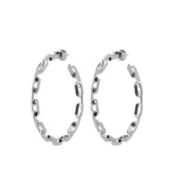 2 chain link hoops