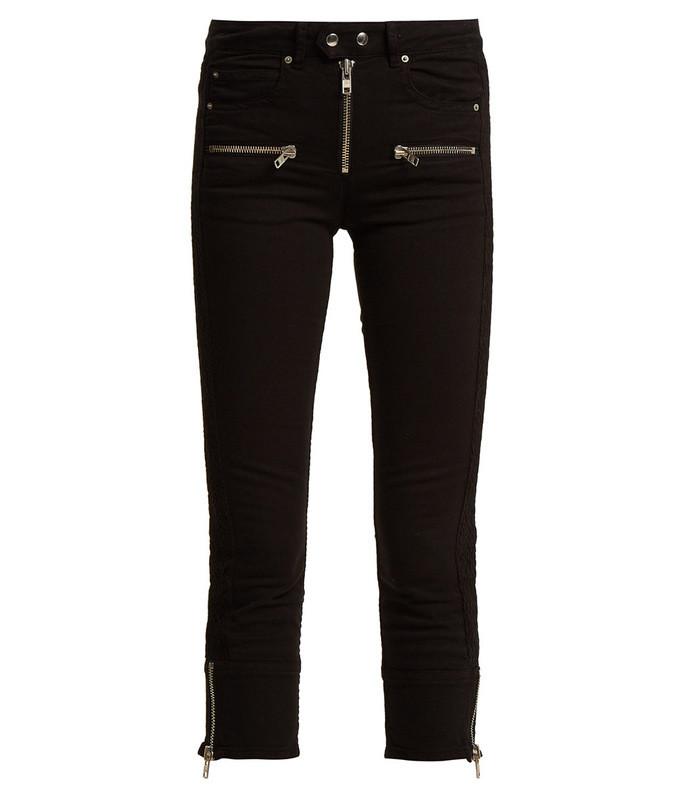pelona skinny cropped jeans