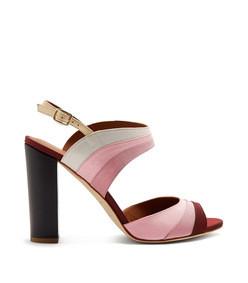 anita colour-block high-heel sandals