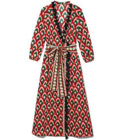 lena lotus robe dress