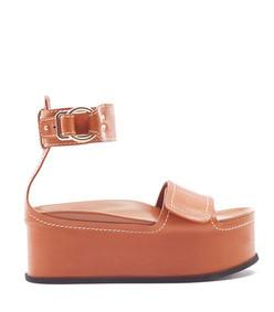 freida ankle-strap platform sandal