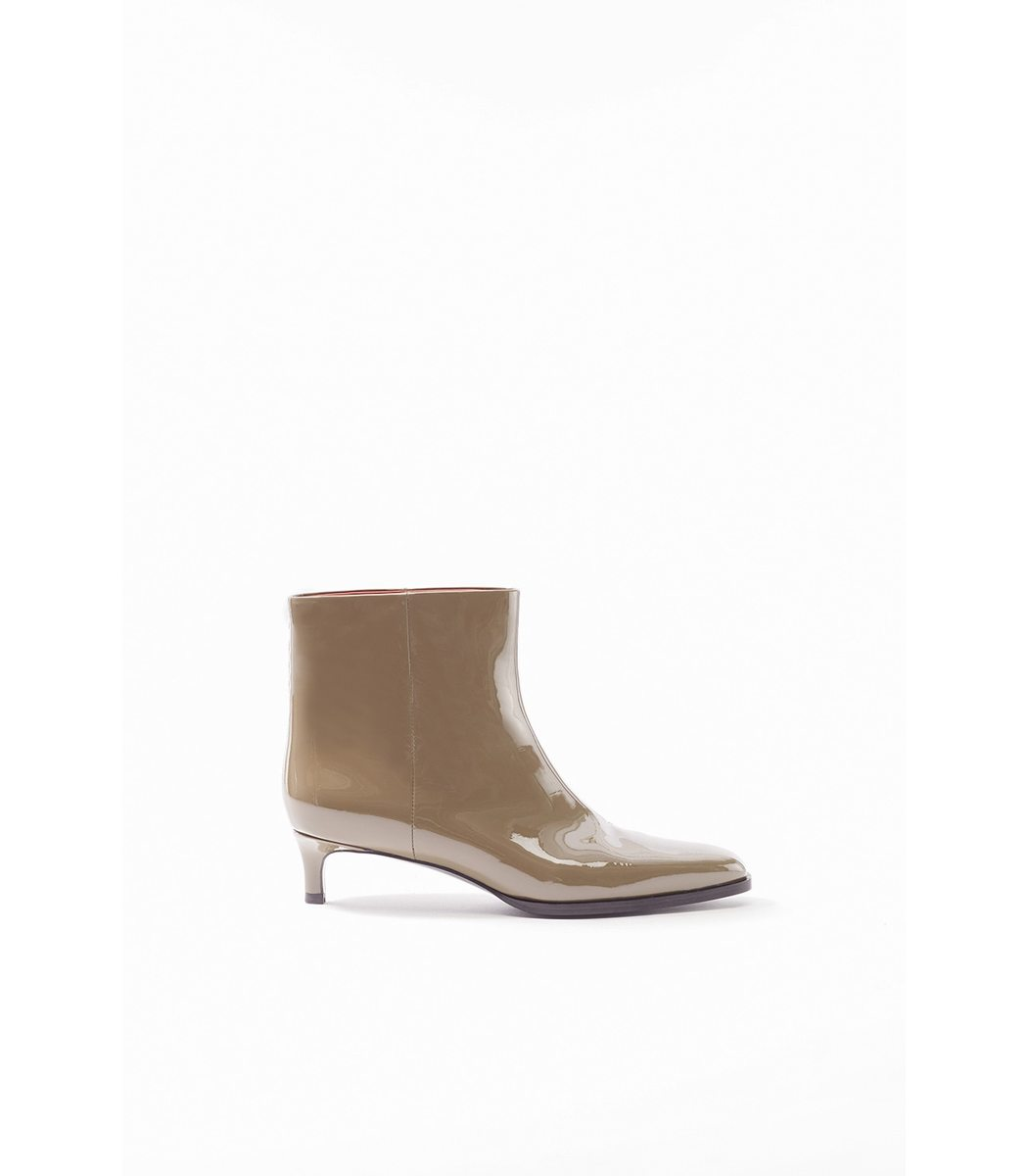 Fatigues Agatha Patent Bootie