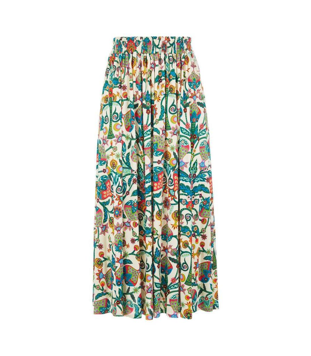 La Doublej Skirts LA DOUBLE J Floral Printed Maxi Skirt