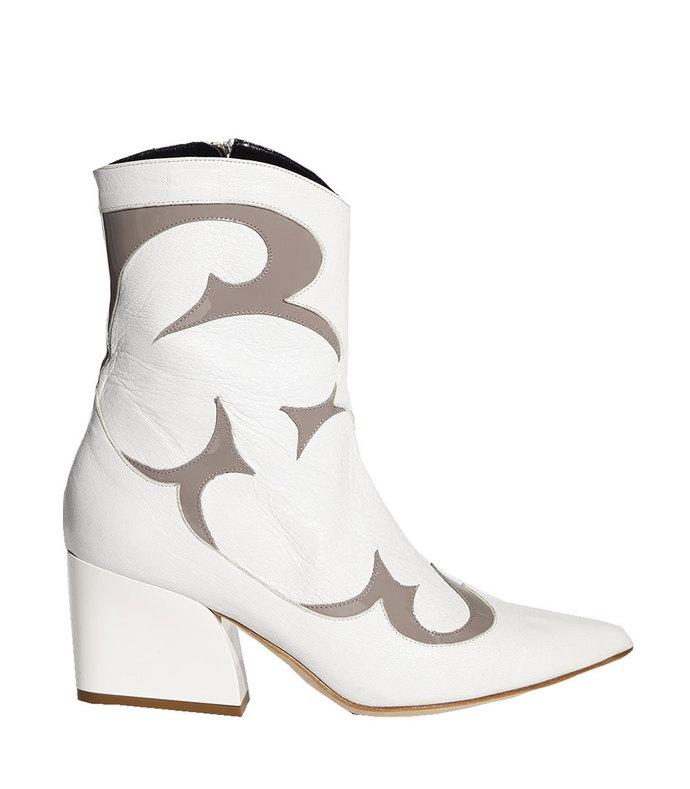 bright white/grey multicolor felix boots