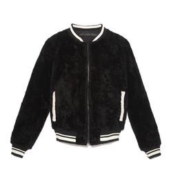 the suzy lamb baseball jacket
