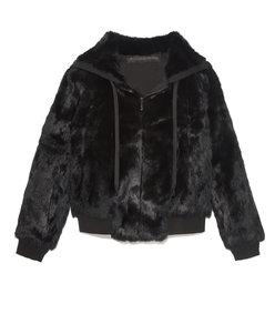 the lucy rabbit zip hoodie