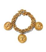 chunky lion charm bracelet