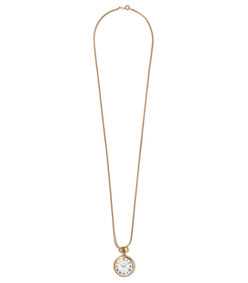 watch pendant necklace