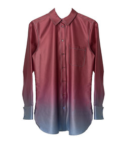 sander printed degrade shirt