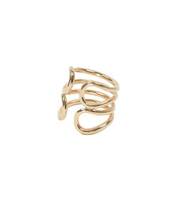 penelope ring 18k fairmined yellow gold