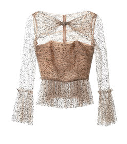 joey celestial tulle top