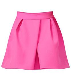 pleat front skirt