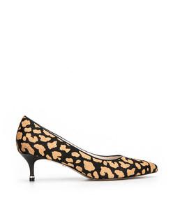 riley calf hair kitten heel